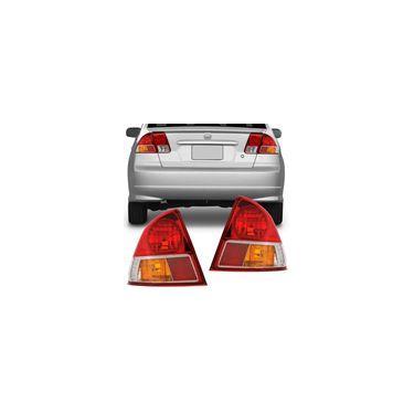 Lanterna Traseira Honda Civic 2004 2005 2006 Serve 2001 2002 2003 Canto