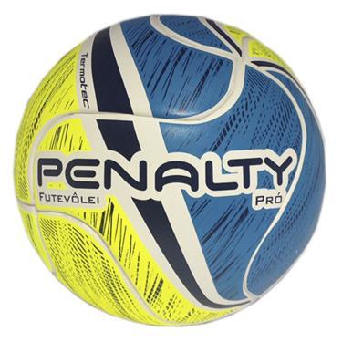 8e613249c2 Bola de Futevôlei Pro VII Penalty - Branco Amarelo Azul