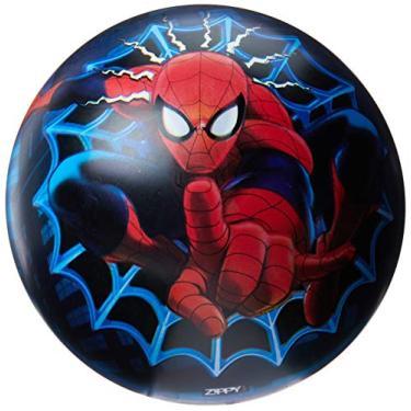 Imagem de Mimo Style Bola de Vinil do Homem Aranha Zippy Toys Azul