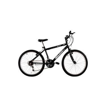 Imagem de Bicicleta Aro 26 Masculina Adulto 18 Marchas Preta