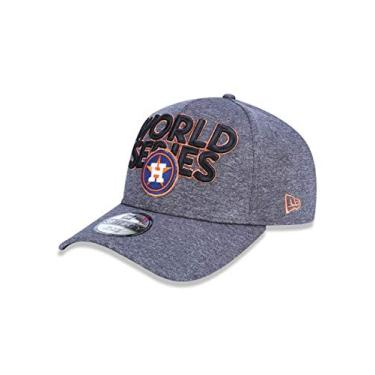BONE 3930 HOUSTON ASTROS MLB ABA CURVA CINZA NEW ERA 0b101addb5b