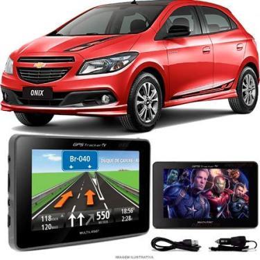 Navegador Gps Automotivo GM ONIX Tela 4,3 Touch Voz C/TV FM Oferta