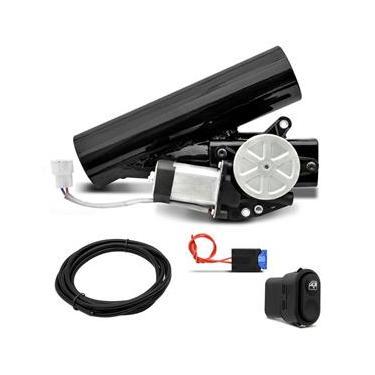Difusor de Escape Eletrônico Universal Ronco Esportivo Botão Interruptor 2 2,5 3 Pol Aço