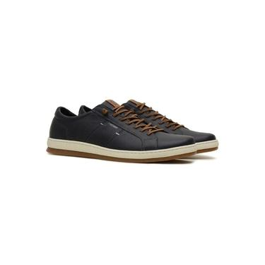 Sapatenis Casual Masculino Couro com Zíper Lateral Free Way Tower