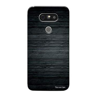 Capa Personalizada para LG G5/G5 SE Madeira Queimada - TX44