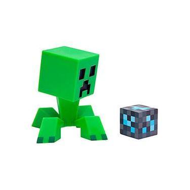 Mini Figura Minecraft Creeper - Jinx