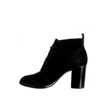 Ankle Boot Feminina Loucos e Santos Camurça L51074001