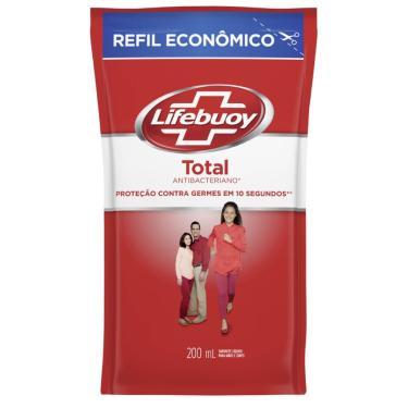 Refil Sabonete Líquido Lifebuoy Hand Wash Total 200ml
