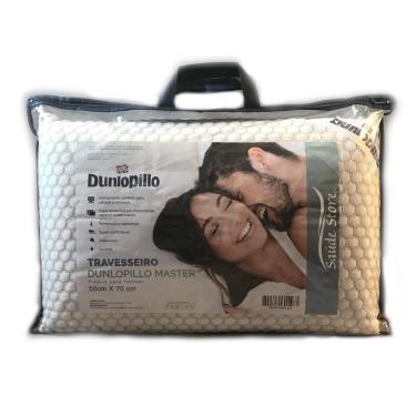 Imagem de Travesseiro de Látex Dunlopillo Master Capa de Viscose Belga 50 x 70 cm Copespuma