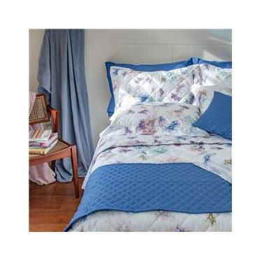 Imagem de jogo de cama queen scavone 300 fios 100% algodão organza