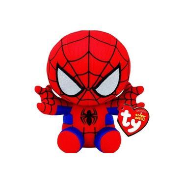 Imagem de Boneco Pelúcia Homem Aranha Spider 15cm Dtc Ty