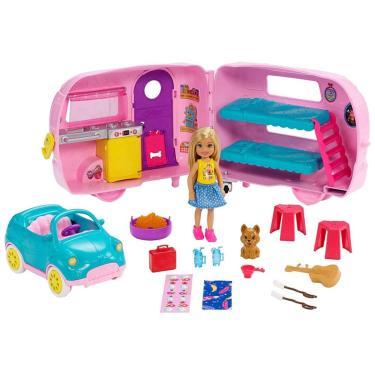 Barbie Family Trailer Da Chelsea Fxg90 Mattel