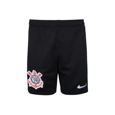 Calção do Corinthians I 2020 Nike - Infantil Nike Unissex