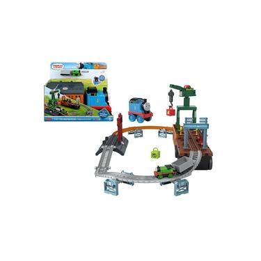 Imagem de Pista Conjunto Thomas Transformação 2 em 1 c/ Trem de Metal Percy - Fisher Price - Mattel