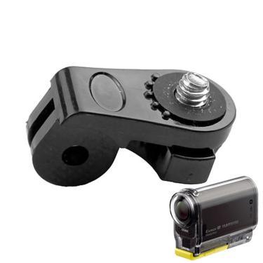 Imagem de Adaptador de ponte para câmeras gopro, montagens, 1/4 polegadas, furo para parafuso, sony mini cam,