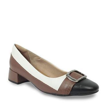 Sapato Comfortflex Feminino 1995303 Salto Baixo
