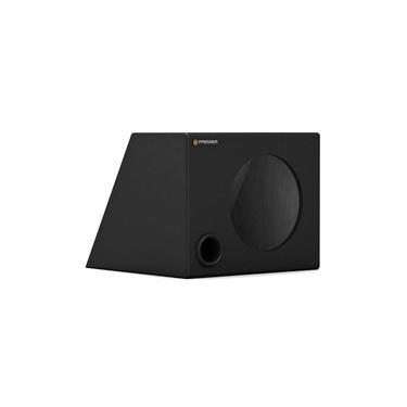 "Caixa Premier Audio Dutada Trapezoidal Para 1 Alto-Falante de 8"""