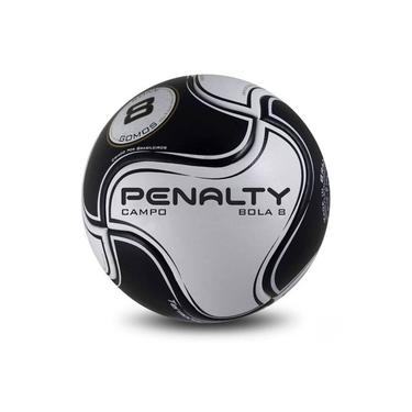 Bola Futebol de Campo Semi Profissional R2 8 S11 Preta Penalty