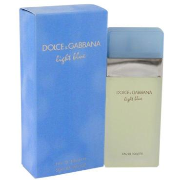 Perfume Feminino Light Blue Dolce & Gabbana 50 ML Eau De Toilette