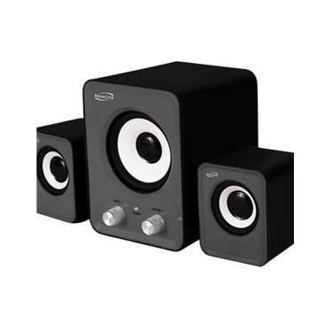 Caixa De Som 2.1 Power Song Sp202 Newlink