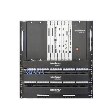 Central Pabx Digital Intelbras Impacta 140 Rack 4320044