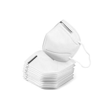 Máscara N95 Pff2 Sem Válvula - 10 Unidades c/ ANVISA FDA CE