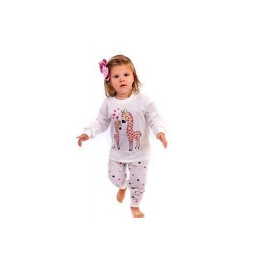 Pijama Infantil Longo Menina Bailarina Inverno - Moletinho - Maria Rosa Confecções