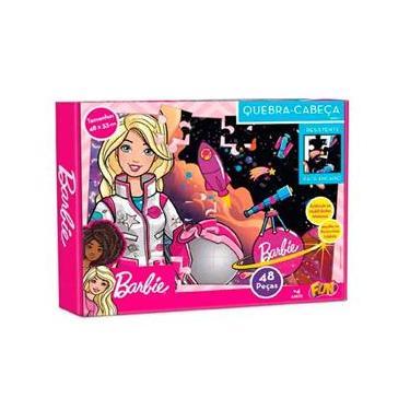 Imagem de Quebra Cabeça Barbie 48 Peças 86888 - Fun