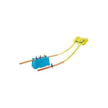 Imagem de Pista Hot Wheels - Kit Completo Stunt Box - Caixa de Velocidade de Pistas Múltiplas - Mattel