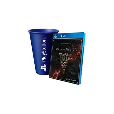 The Elder Scrolls Online Morrowind Ps4 Midia Fisica + Copo Azul Playstation