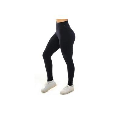 Legging mais corsário em suplex cintura alta.