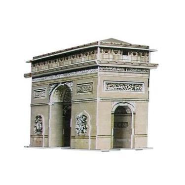 Imagem de Quebra-Cabeça 3D Arco do Triunfo 83 Peças - DTC