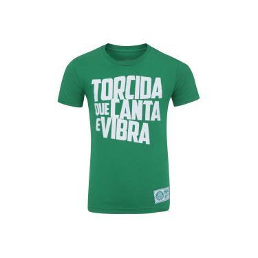 67ecfbf7d8 Camiseta do Palmeiras Torcida Meltex - Infantil - VERDE Meltex