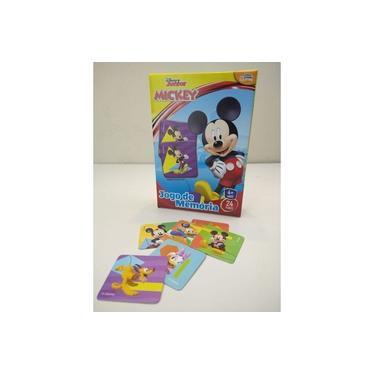Imagem de Jogo De Memória Mickey Junior 24 Pares 8004 Toyster