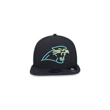Bone 950 Original Fit Carolina Panthers Nfl Aba Reta Snapback Preto New Era 7af9d3b081c