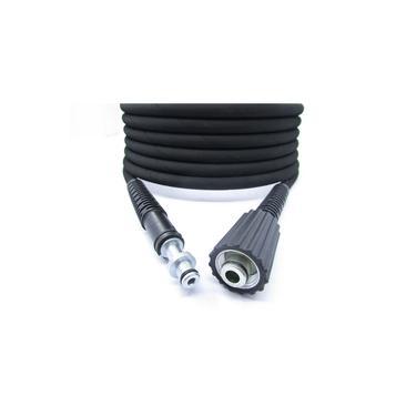 Mangueira Trama Aço Karcher K 2.500 Black Agua Reuso 7mt