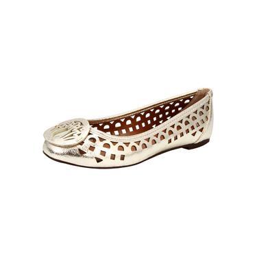 Sapatilha My Shoes Metalizada