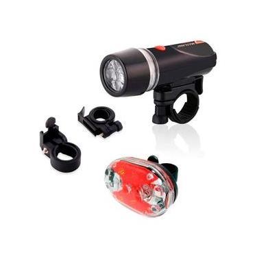 Sinalizador Lanterna Luz Guidão Acessório Bicicleta Bike