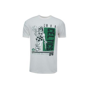Camiseta NBA Boston Celtics Box Wins NB206 - Masculina NBA Masculino