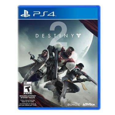 Jogo Destiny 2 - Ps4 Mídia Física