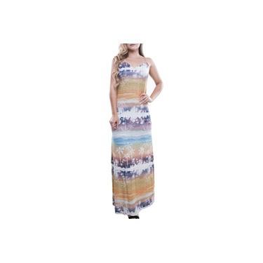 Vestido feminino longo carneiros Mormaii