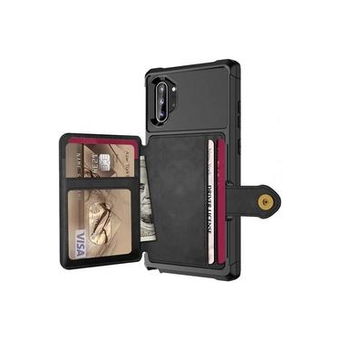 Capa Case Carteira Galaxy Note 10 Tela 6.3 Multifuncional