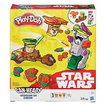 Imagem de Massinha Play Doh Conjunto - Veículo Star Wars - Missão Em Endor - Hasbro