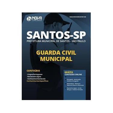 Imagem de Apostila Prefeitura Santos São Paulo - Guarda Municipal