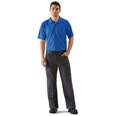 Imagem de Camisa polo masculina Red Kap Active Performance, Royal Blue, Medium