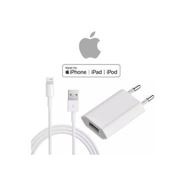Carregador Usb + Cabo Apple Original iPhone 12 ,11, X / XS / XR / MAX / 8 / 7 / 6s / SE / 5