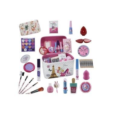 Imagem de Maleta Infantil + Kit de Maquiagens de Beleza BZ66