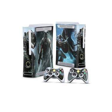 Skin Adesivo para Xbox 360 Fat Arcade - Skyrim