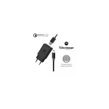 Carregador Motorola Turbo Power Usb Tipo C Moto One Z Z2 Z3 Play X4 M G6 G6 Plus G7 G7 Power M140114