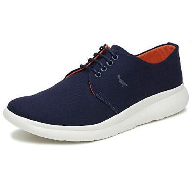 Sapato Marinho/Laranja Enzo, 38